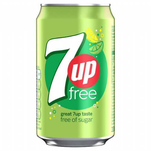 7UP Free 330ml (UK)